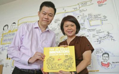 The Straits Times article on the Top 50 Social Innovations Changing the World book