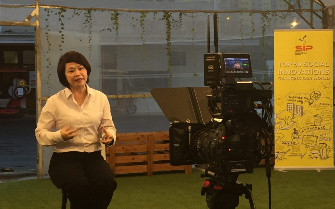 Singapore Reimagined, Featuring SIP Founder, Ms Penny Low